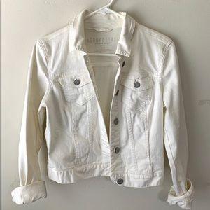 Aeropostale Denim Jacket (white)